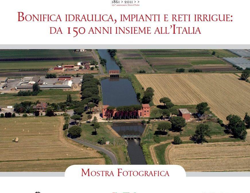 Mostra fotografica storica sui 150 anni della bonifica idraulica e delle reti d'irrigazione